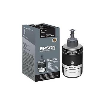 Epson C13T77414A Siyah Kartus 140ml-M105,M100,M200
