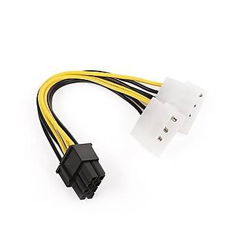 Dark DK-CB-P106 2xMolex 4pin -6pin PCI-E Güç Kablo