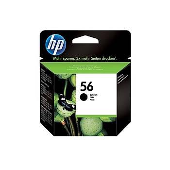 HP C6656A Siyah Mürekkep Kartuþ (56)