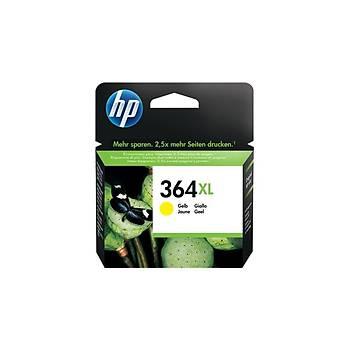 HP CB325EE Sarý Mürekkep Kartuþ (364XL)