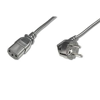 Digitus AK-440100-025-S 2.5m 90 Derece Power Kablo