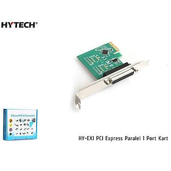 Hytech HY-EX1 PCI Express Paralel 1 Port Kart