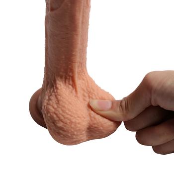 Shequ Crowley's Penis Çift Katmanlý Realistik Dildo 18 Cm