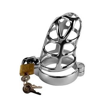 Lovetoy Metal Chastity Cage Penis Kafesi Erkek Bekaret Kilidi