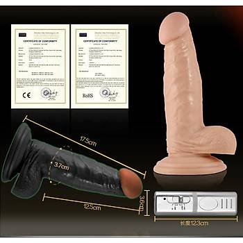 Lovetoy Extreme Realistik Titresimli Penis 16.5 Cm