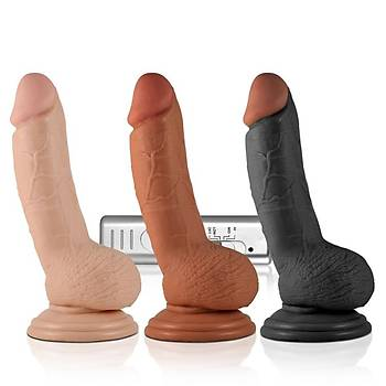 Lovetoy Real Extreme Serisi 18 Cm Titresimli Realistik Penis