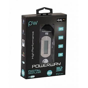 Powerway PW-001 2gb Radyolu mp3 Player