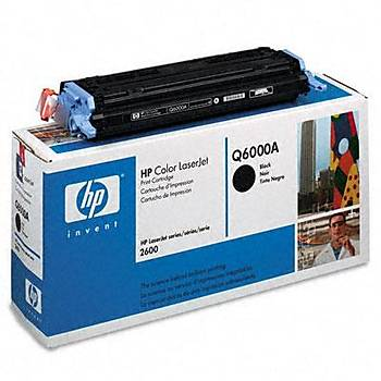 HP 124A Black Siyah 2.500 Sayfa Toner Q6000A