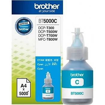 Brother BT5000C Cyan Mavi 5.000 Sayfa Þiþe Mürekkep DCP-T300-310-500-510-700-710 MFC-T800-810