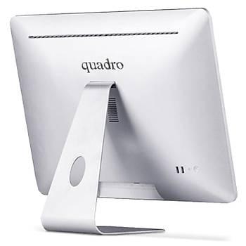 """Quadro Aýo Rapýd Hm6522-23425 I3-2348M 4Gb 256Gb Ssd 21.5"""" Dos Beyaz All In One Bilgisayar"""