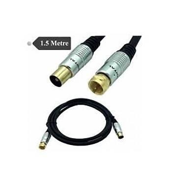 Hytech HY-P585 3MT 9.5 TV M TO 9.5 TV F  Anten Kablosu