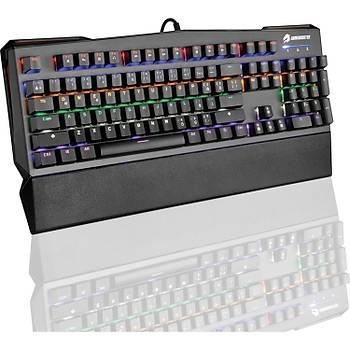 GameBooster G7 Reaper Rainbow Aydýnlatmalý Bileklikli Mekanik Klavye (GB-G7)