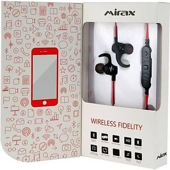 Mirax SBE-5500 Bluetooth Stereo Kulaklýk - Kýrmýzý