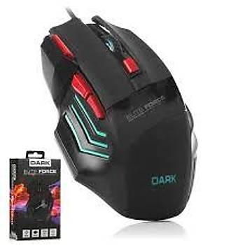 Dark Elite Force gm1000 Kablolu Oyuncu Mouse
