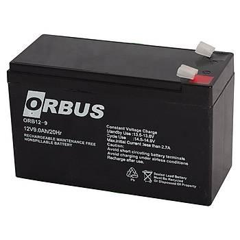 Orbus Orb-12v 9Ah Bakýmsýz Kuru Akü