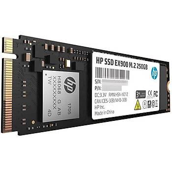 Hp 250GB EX900 M.2 PCIe 3.0 x4 NVMe 3D TLC NAND 2100Mb-Sn 2YY43AA Ssd Disk