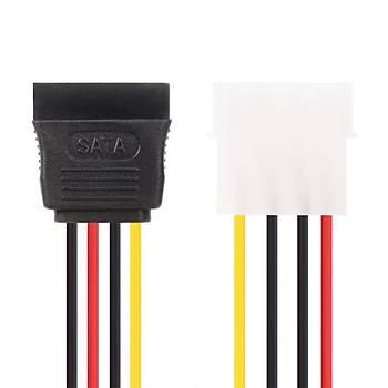 Vcom CE351-0.15 Tekli Sata Power Kablo 0.15MT