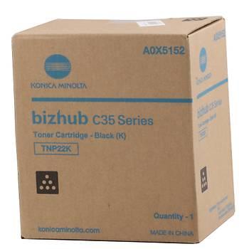 Konica Minolta TNP-48 Siyah Orjinal Fotokopi Toneri Bizhub C3350-3850 A5X0150 10.000 Sayfa