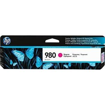 HP 980 Magenta Kýrmýzý Kartuþ D8J08A
