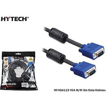 Hytech HY-VGA113 VGA M-M 3m Data Kablosu