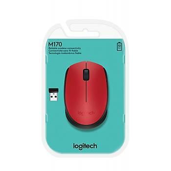 Logitech 910-004641 M171 Kablosuz Kýrmýzý Mouse