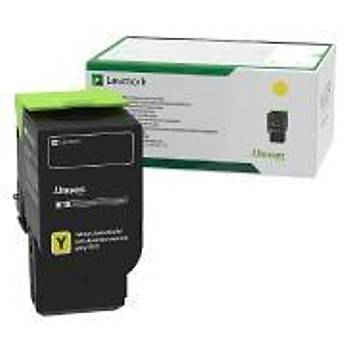 Lexmark 78C5XY0 5.000 Sayfa Yellow Sarý Toner CS421-521-622 CX421-522-622-625