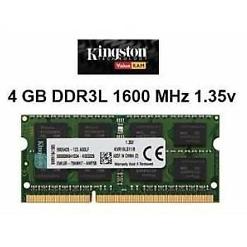 Kingston 4-1600 Mhz 1,35V Cl 11 Kvr16Ls11-4 Kutusuz Notebook Ram