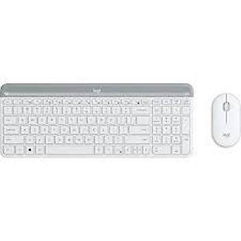 Logitech 920-009436 MK470 Beyaz Kablosuz Klavye Mouse Seti