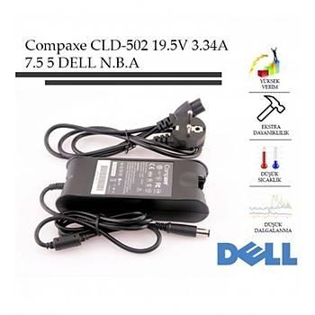 Compaxe CLD-502 65W 19.5V-3.34A 7.4-5.0 Dell Notebook Adaptörü