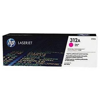 HP 312A Magenta Kýrmýzý 2.700 Sayfa Toner CF383A