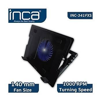 Inca Inc-341FXS Siyah Ergonomik Sessiz Usb Notebook Soðutucu