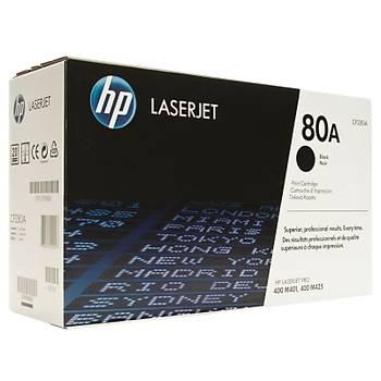 HP 80A Black Siyah 2.700 Sayfa Toner CF280A