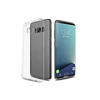 Addison IP-858 Kristal Samsung Galaxy S8 Ultra Ýnce koruma kýlýfý