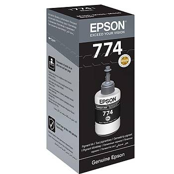 EPSON T7741 Black Siyah Þiþe Mürekkep T77414A