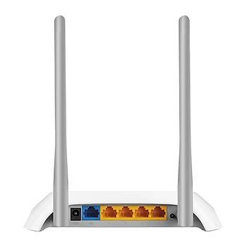 Tp-Link TL-WR850N 300 Mbps 4 Portlu Router