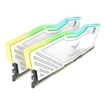32 GB DDR4 3200M T-FORCE DELTA RGB WHITE 16x2