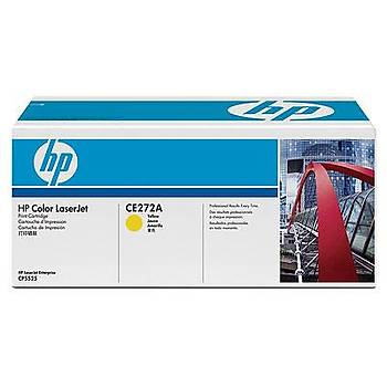 HP 650A Yellow Sarý 15.000 Sayfa Toner CE272A