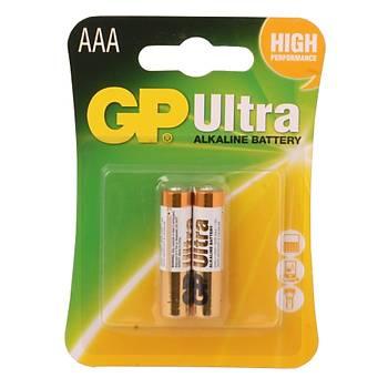 Gp R03 AAA Boy Ultra Alkalin Ýnce Kalem Pil 2'li Paket GP24AU-2U2