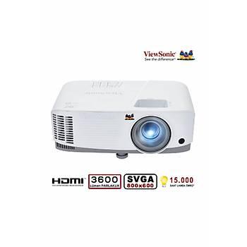 Viewsonic PA503S 3600 Ansilümen 800x600 SVGA 3D DLP Projeksiyon Cihazý