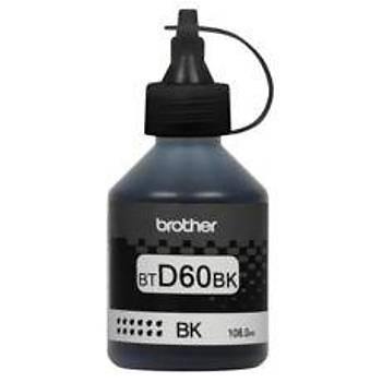 Brother BT60BK Black Siyah 6.000 Sayfa Þiþe Mürekkep DCP-T310-T510 MFC-T810-T910
