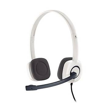 Logitech 981-000350 H150 Stereo Beyaz Kulaklýk