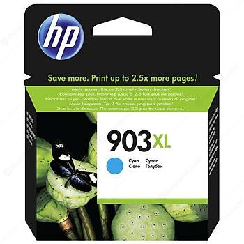 HP 903XL Cyan Mavi Yüksek Kapasite Kartuþ T6M03AE