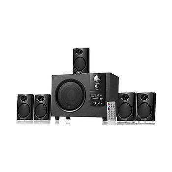 Mikado Md-729FM 5+1 20Watt + 5Watt-5 Usb+SD+FM Destekli Multimedia Speaker