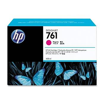 HP 761 Magenta Kýrmýzý Plotter Kartuþu CM993A