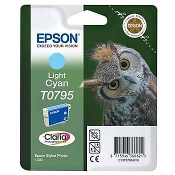 Epson 1400-P50 Light Cyan Açýk Mavi Mürekkep Kartuþ T07954020