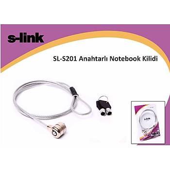 S-link SL-S201 Anahtarlý Notebook Kilidi
