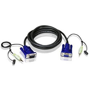 Aten 2L-2402A Vga-Audio Cable  (1,8 Metre)
