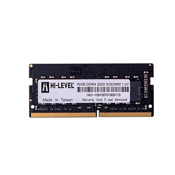 16GB DDR4 3200Mhz SODIMM 1.2V HLV-SOPC25600D4/16G HI-LEVEL