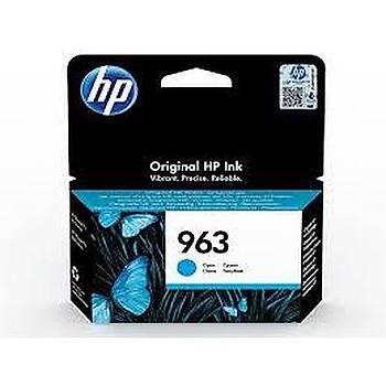 HP 963 Cyan Mavi Kartuþ 3JA23A