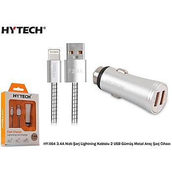Hytech HY-X64 3.4A Hýzlý Þarj Lightning Kablolu 2